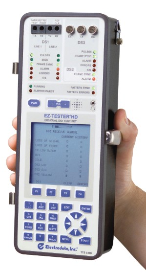 EZ-TESTER HD:  Combined DS3 and Dual Line DS1 Tester